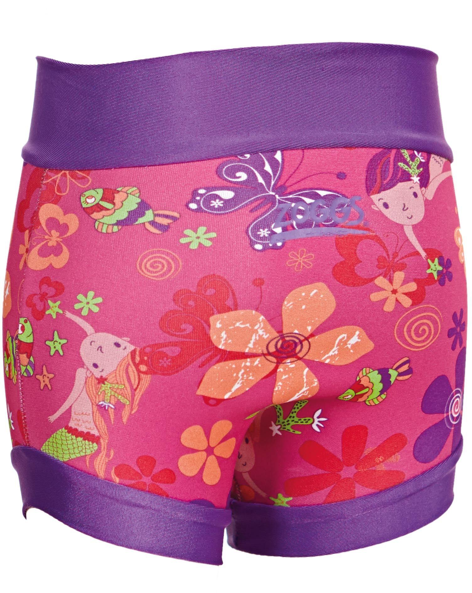 1c01e867a07 Zoggs Mermaid Flower Swimsure Badebukser Børn, pink/multi | Find ...